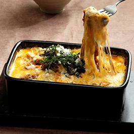 트리플 치즈 비프 덮밥